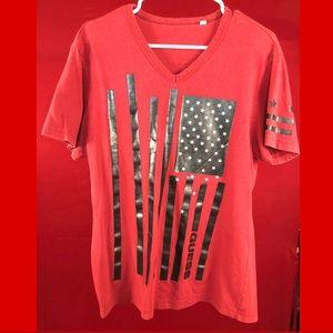 Guess USA T shirt red
